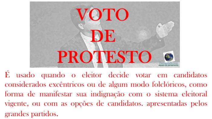 protesto novo